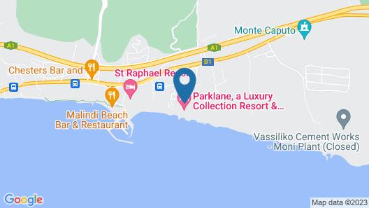Parklane, a Luxury Collection Resort & Spa, Limassol Map
