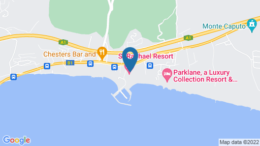 St Raphael Resort Map