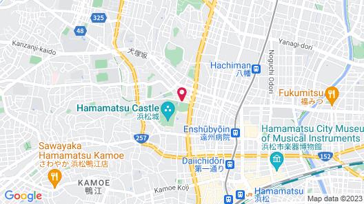 Hotel Concorde Hamamatsu Map