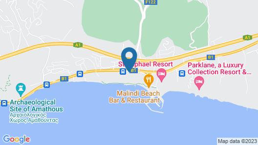Elias Beach Hotel Map