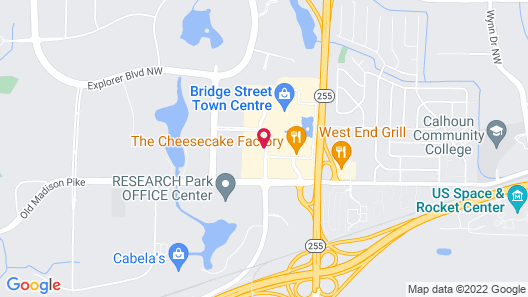 Hyatt Place Huntsville/Research Park Map