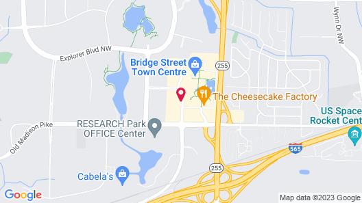 Hyatt Place Huntsville/Research Park Map