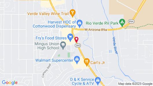 Verde Valley Inn Map