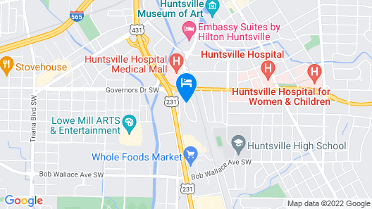 Hidden Gem in City Central - Private Bungalow Map