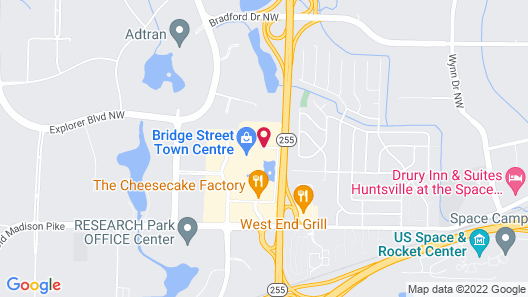 Element Huntsville Map