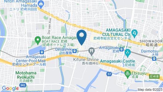 Sun Hotel Amagasaki Map