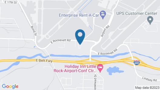 Fairfield Inn & Suites by Marriott Little Rock Airport Map