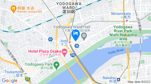 Juso AFP Luxury Apartment Map