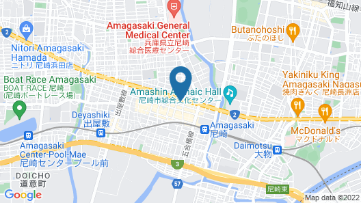 HOTEL FIRST STAY AMAGASAKI Map
