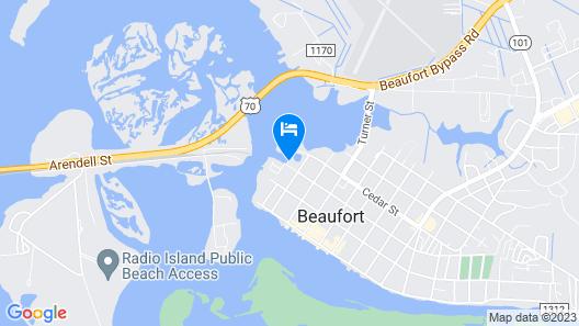 Bridgeview on Broad Map