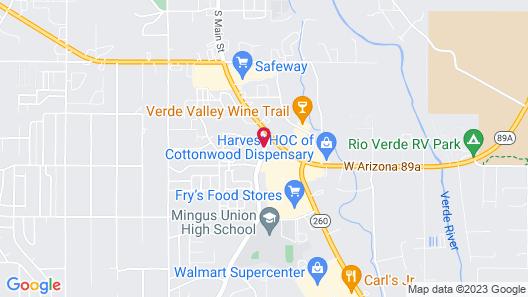 Pines Motel Map