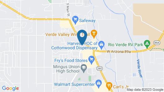 Pines Inn & Suites Map