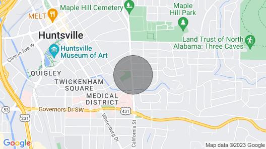 Citycentre House. 5 min to Hosp/dwtn. Sleeps 10+ Map