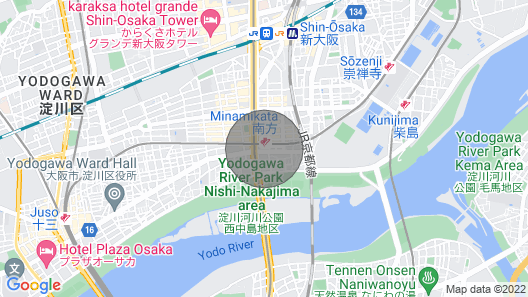 After all Station Chika is the Most Convenient / Osaka Osaka Map