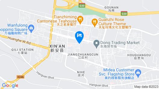 Qianxiangyuan Express Hotel Map