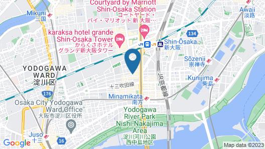 HOTEL MYSTAYS Shin Osaka Conference Center Map