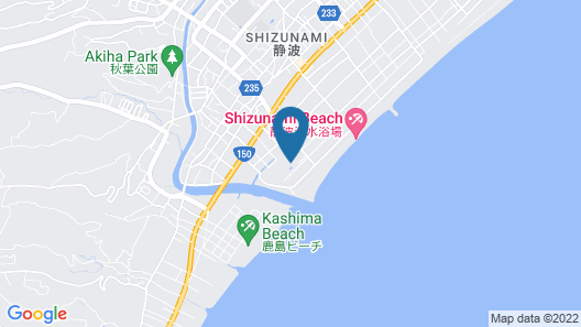 Shizunami Resort Hotel Swing Beach Map
