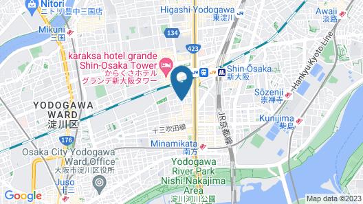 APA HOTEL Shin-Osaka-Ekiminami Map