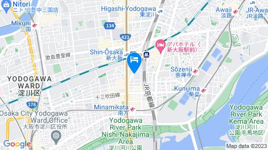 Shin Osaka Washington Hotel Plaza Map