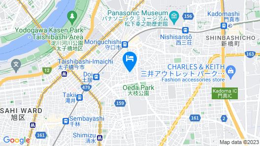 Enman Guest House Osaka - Hostel Map