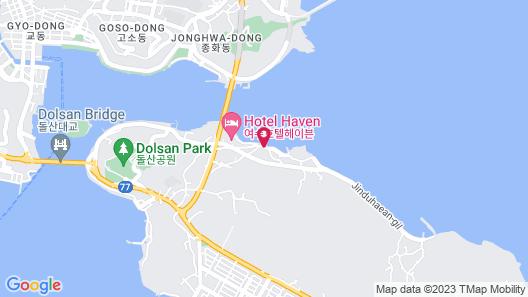 Yeosu Sunhill SPA Pension Map