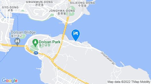Yeosu Sunhill SPA Pension Map