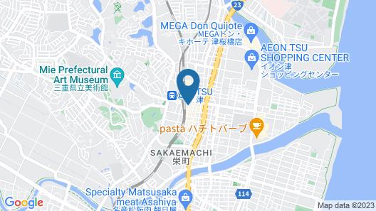 Sanco Inn Tsu-Ekimae Map