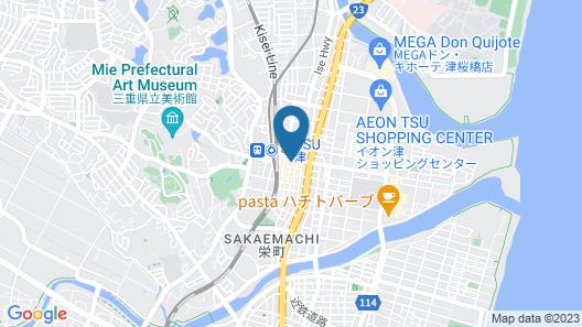 Dormy Inn Tsu Natural Hot Spring Map