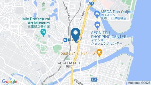 APOA HOTEL TSU Map