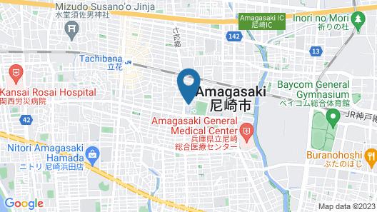 Amakusa Santa Coming Hotel Map