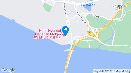 Hotel Hyundai by Lahan Mokpo Map