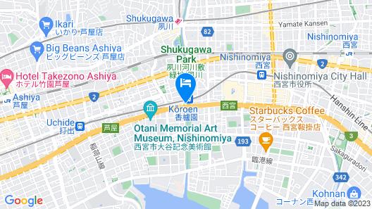 HOTEL U's Kouroen Map