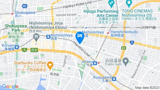 TOYOTAYA HOSTEL Map