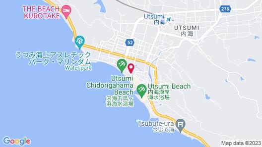 Wakamatsu Chita Hot Spring Resort Map