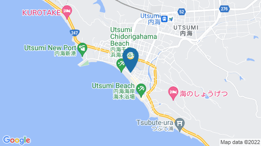Wakamatsu Chita Hot Spring Resort Map