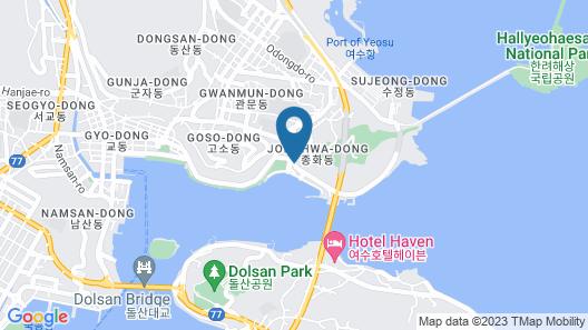 I Stayed Pension Yeosu Map