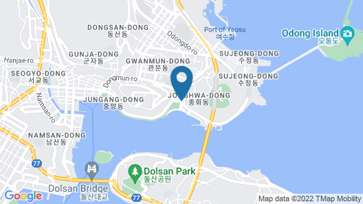 Yeosuya Hostel & Pension Map