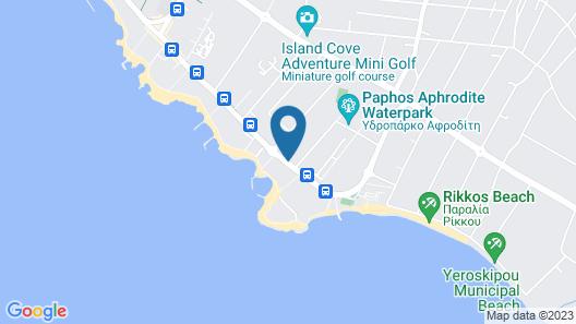 Constantinou Bros Asimina Suites Hotel Map
