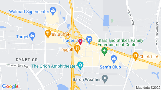 Holiday Inn Research Park, an IHG Hotel Map