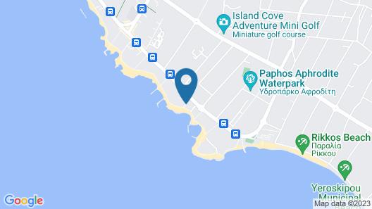 Leonardo Cypria Bay- All Inclusive Map