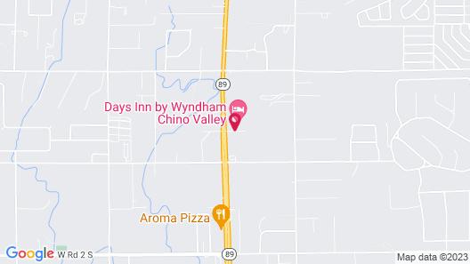 Days Inn by Wyndham Chino Valley Map