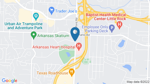 Hampton Inn & Suites by Hilton West Little Rock Map