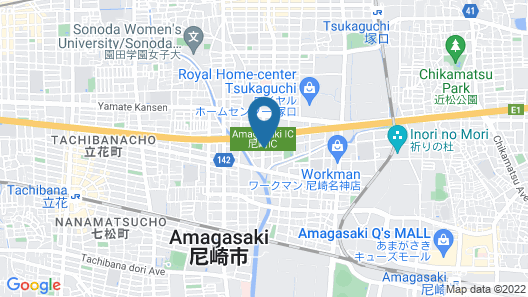 Hotel Xenia Amagasaki - Adult Only Map