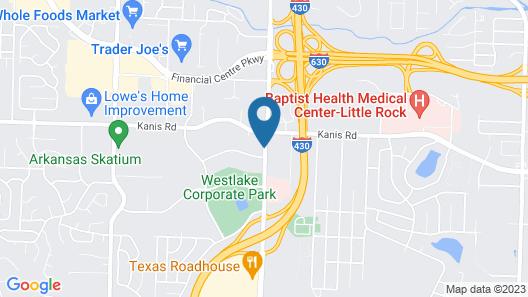 Wingate by Wyndham Little Rock Map