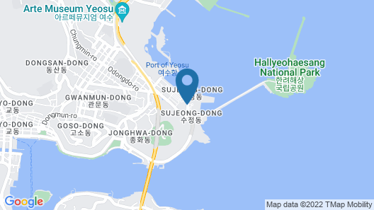 Sono Calm Yeosu (formerly The MVL Hotel Yeosu) Map