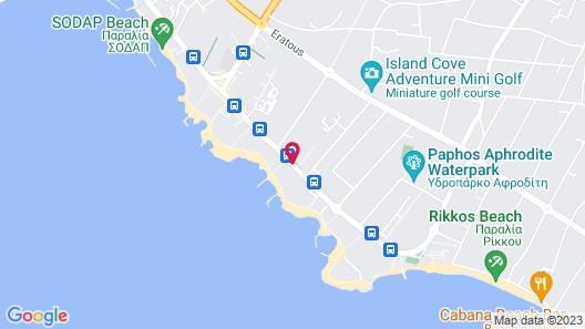 Louis Ledra Beach Map