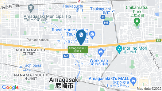 Hotel Casablanca Amagasaki - Adult Only Map