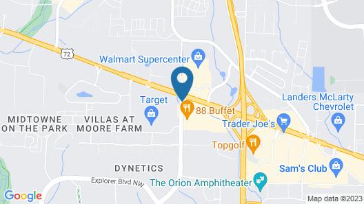 Fairfield Inn by Marriott Huntsville Map