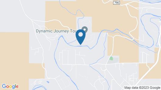Relaxing Oak Creek Retreat Map