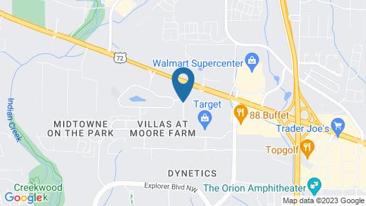 Days Inn & Suites by Wyndham Huntsville Map